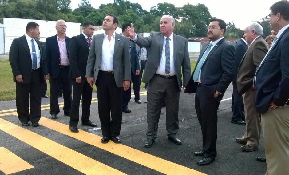 El director informó sobre las denuncias en la visita al aeropuerto. (Foto: DGAC)