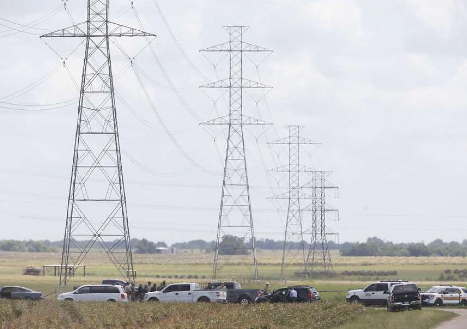 El globo se cayó a unos 50 kilómetros de Lockhart en Texas, EE.UU. (Foto: Statesman)