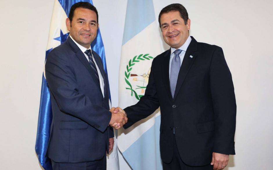 Se reunirán para potenciar la seguridad en la región centroamericana. (Foto: Presidencia Honduras)
