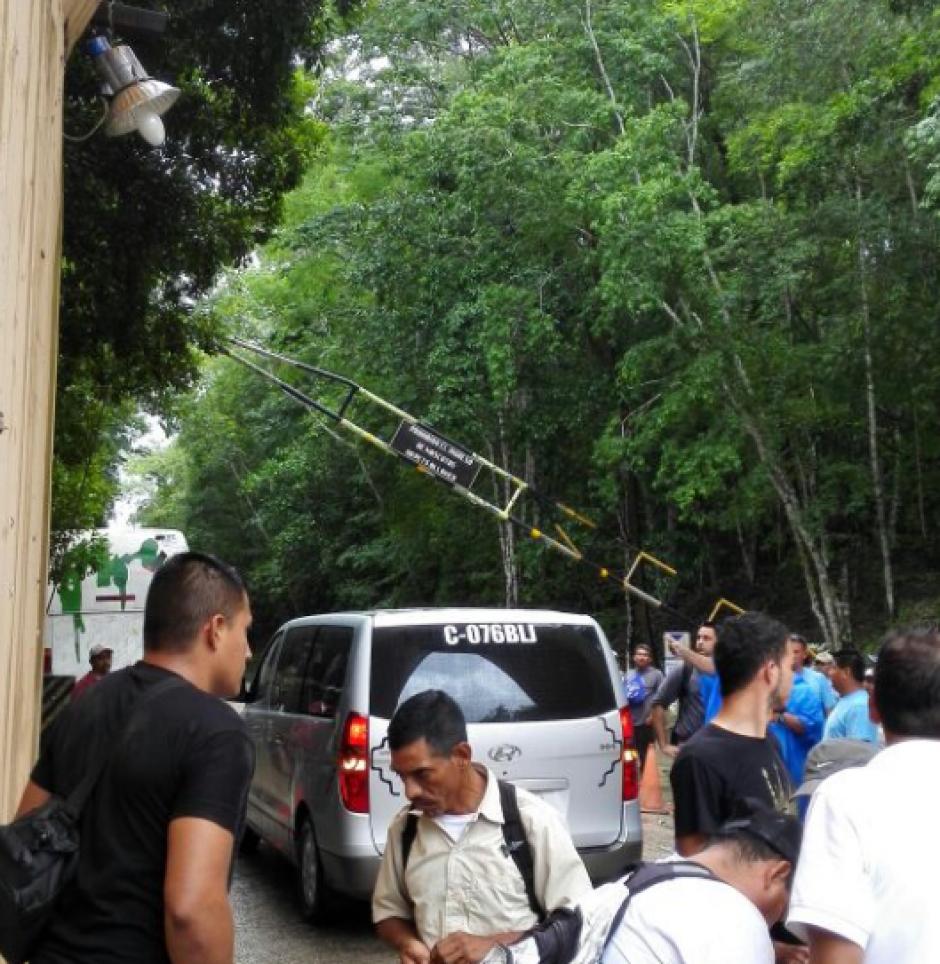 Los trabajadores volvieron a abrir las puertas del parque. (Foto: Ministerio Cultura y Deportes)
