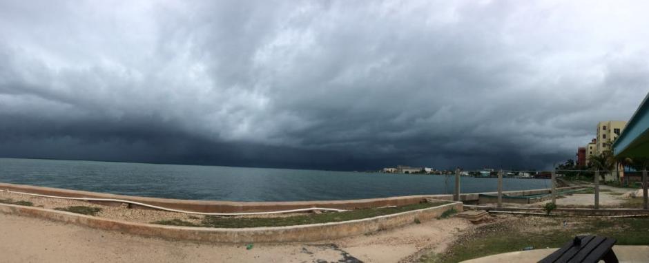 La tormenta tropical Earl comienza a acercarse a Belice y Petén. (Foto: Conred)