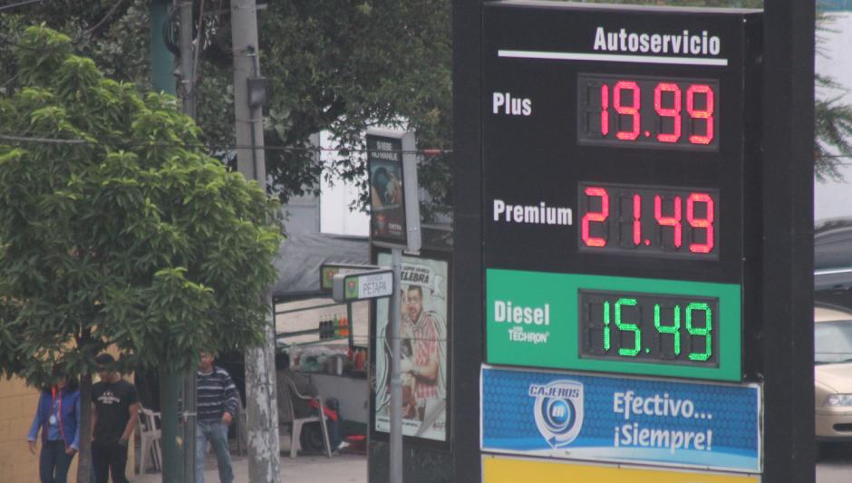 En junio se experimentó el precio más alto, casi alcanzó 50 dólares el barril. (Foto: Archivo/Soy502)