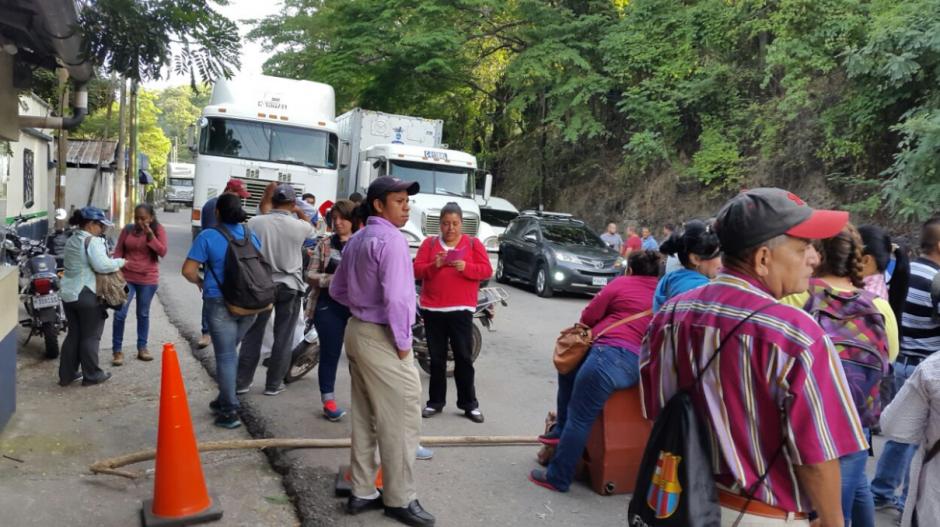 Maestros bloquearon algunas aduanas y puertos fronterizos del país. (Foto: Twitter)