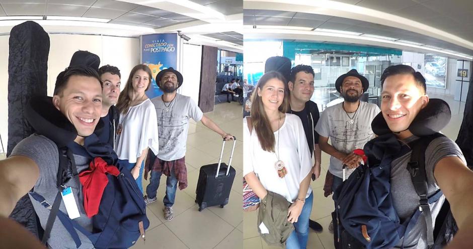 La banda hizo las maletas y salió de viaje el viernes 12 de agosto. (Foto: Facebook)