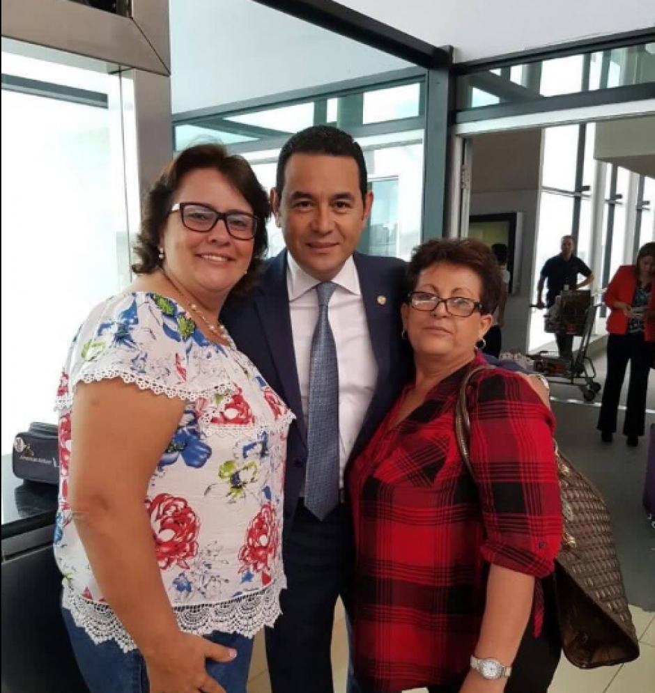 Desde el sábado, Jafeth Cabrera es el presidente en funciones porque Jimmy Morales salió del país. (Foto: Twitter)