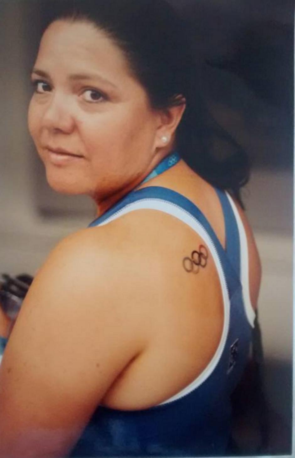 Karin Slowing, es la mamá y entrenadora de Valerie Gruest, compitió en los Juegos de Los Ángeles 1984. (Foto: Facebook)