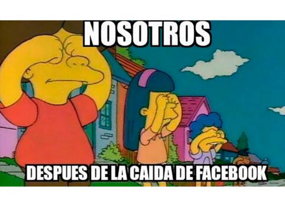 Los usuarios abrieron los ojos con la caída de Facebook. (Foto: Twitter)