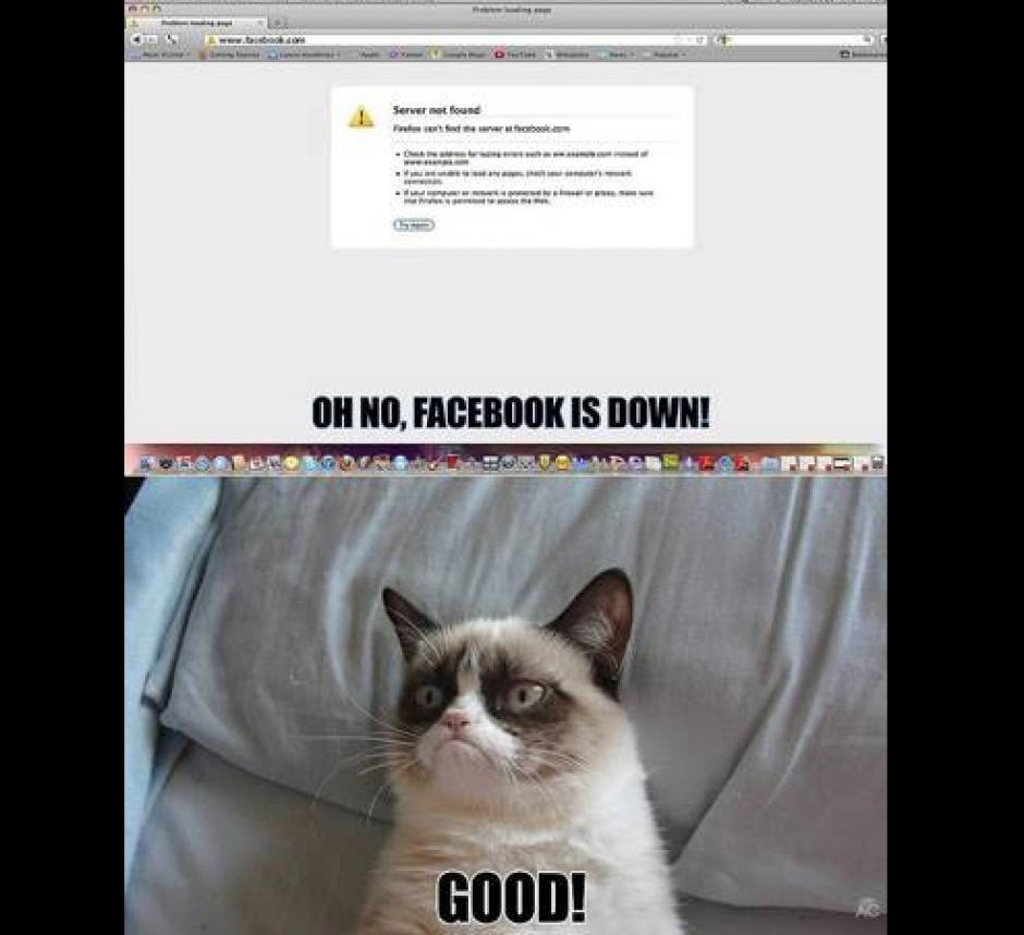 Las redes no perdonaron el momento más duro para la red social. (Foto: Twitter)