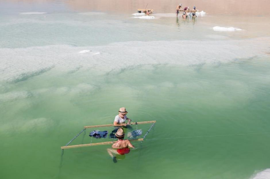 El Mar Muerto es el lago más salado del mundo. (Foto: Instagram)