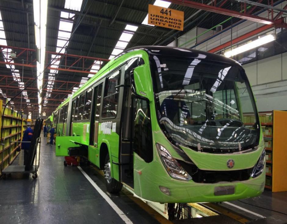 Transmetro compró tres nuevas unidades con capacidad para 250 pasajeros. (Foto: Transmetro)