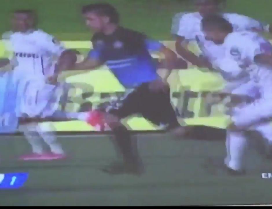 Benedicto Aldana marcó uno de los goles más vistosos del torneo. (Foto: Captura de pantalla)