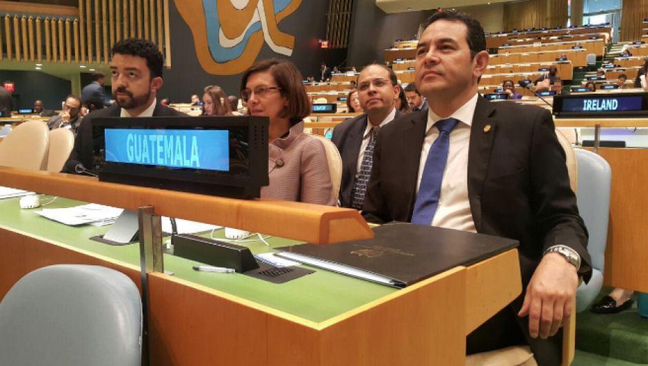 El presidente participó en la 71 Asamblea General de la ONU. (Foto: Presidencia)