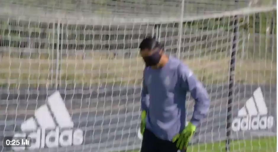 El tico podría volver al equipo titular de Real Madrid este martes ante el Dortmund. (Foto: Captura de pantalla)