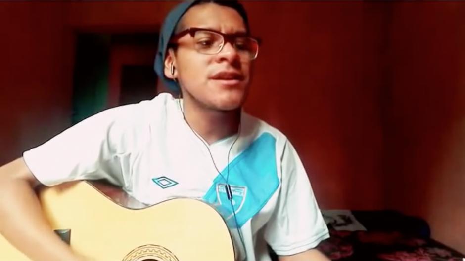 """El artista Elvis Poet le dedicó una canción al """"Pescado"""" Ruiz. (Foto: Captura de pantalla)"""