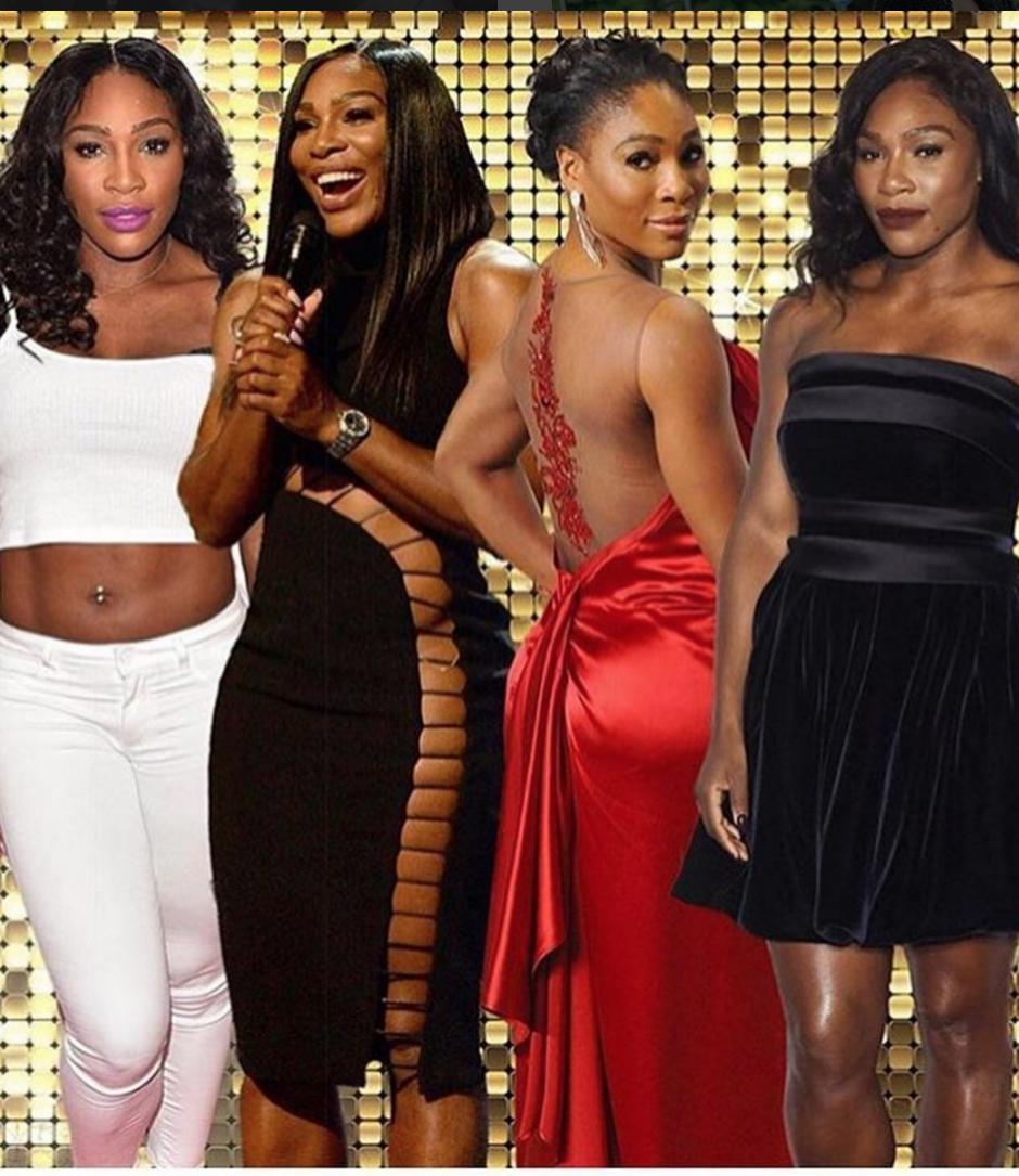 Alguna de las múltiples facetas de Serena Williams. (Foto: Instagram)