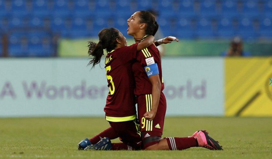 Deyna Castellanos es la figura del fútbol femenino de Venezuela. (Foto: Twitter)