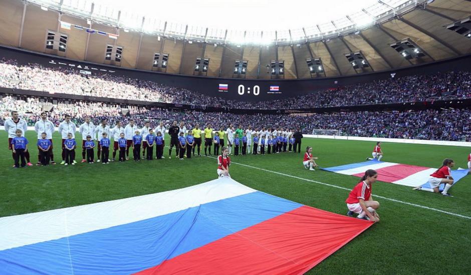 Rusia y Costa Rica se enfrentaron en territorio europeo. (Foto: Agencias)