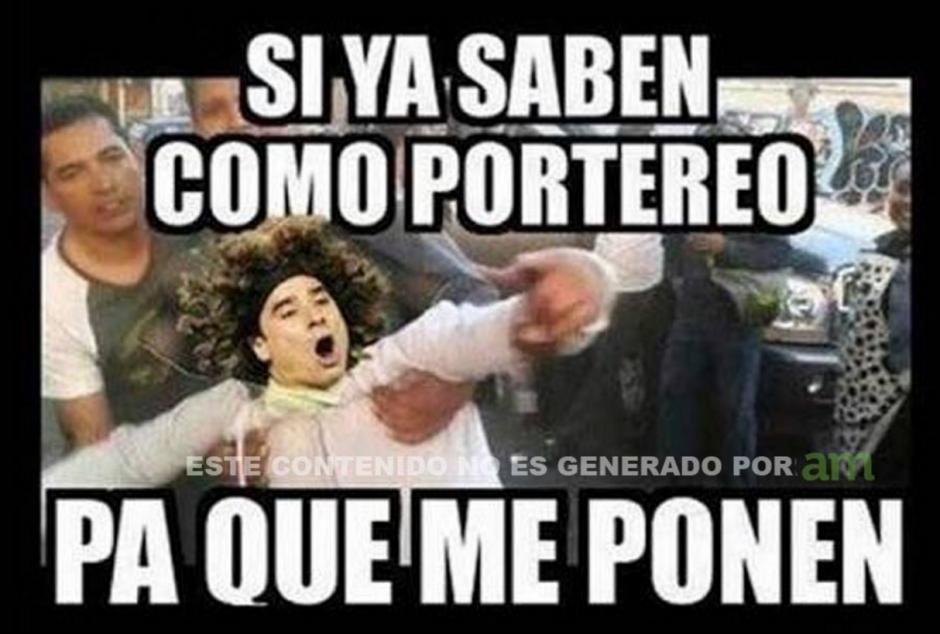 Una de las imágenes más populares para los memes también recordó a Guillermo Ochoa. (Foto: Twitter)