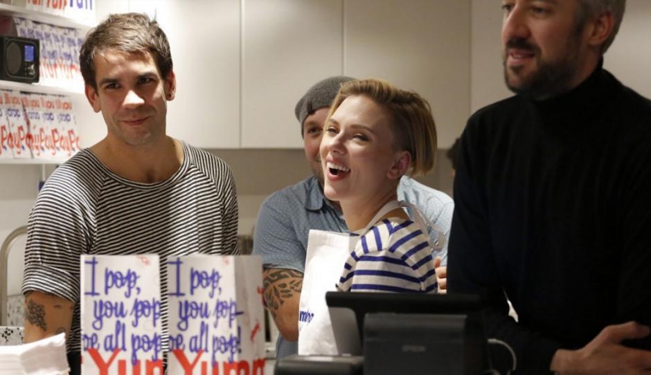 El negocio lo abrió con su marido Romain Dauric.  (Foto: AFP)