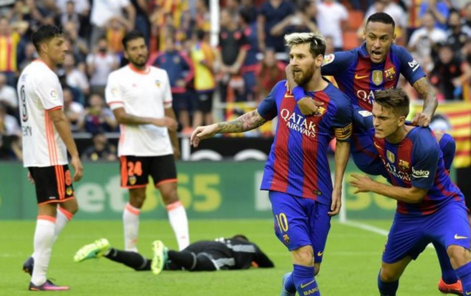 Messi venció a Alves en el penal. (Foto: Archivo)