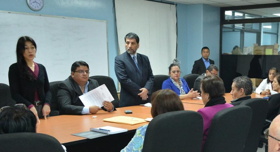 La ministra anunció oficialmente el nuevo nombramiento. (Foto: Ministerio de Salud)
