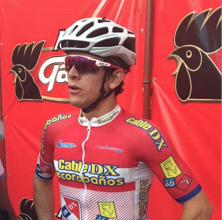 Dorian Monterroso ganó la tercera etapa de la Vuelta. (Foto: Nuestro Diario)