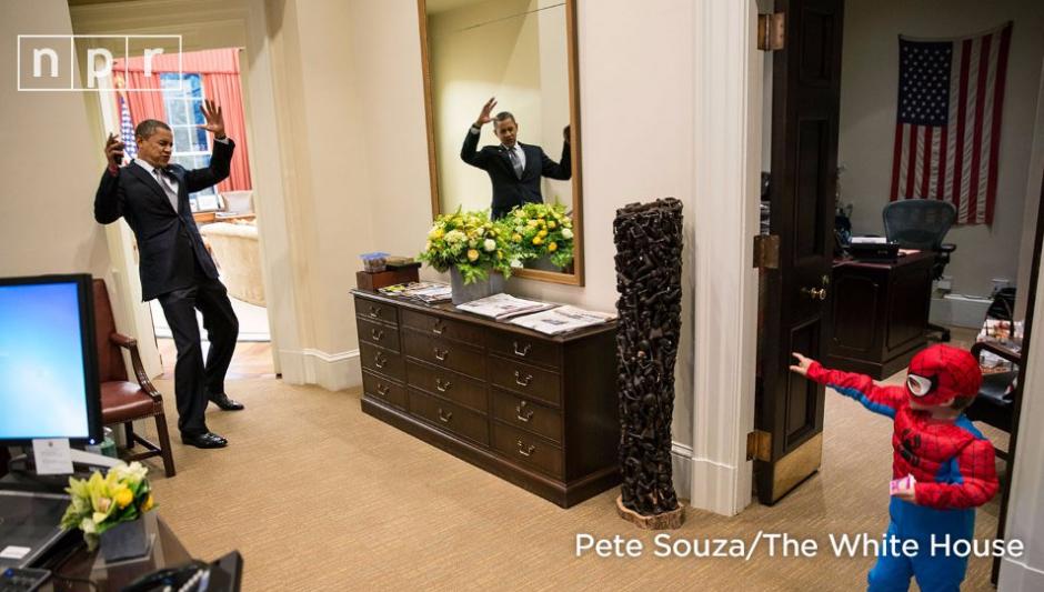 Hemos conocido un lado más carismático de un mandatario. (Foto: Pete Souza)