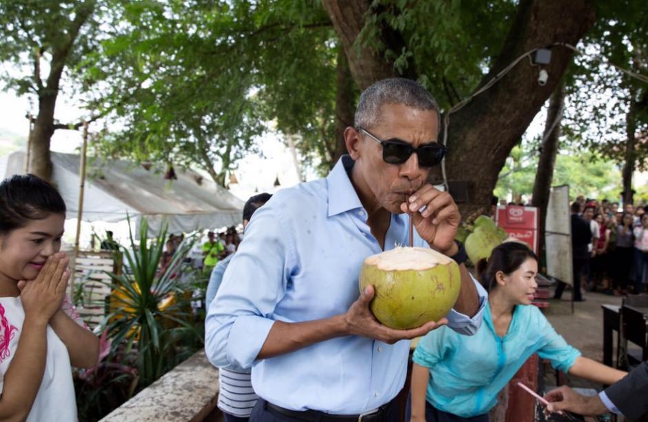 El ojo de Pete Souza supo retratar a Obama y su familia. (Foto: Pete Souza)