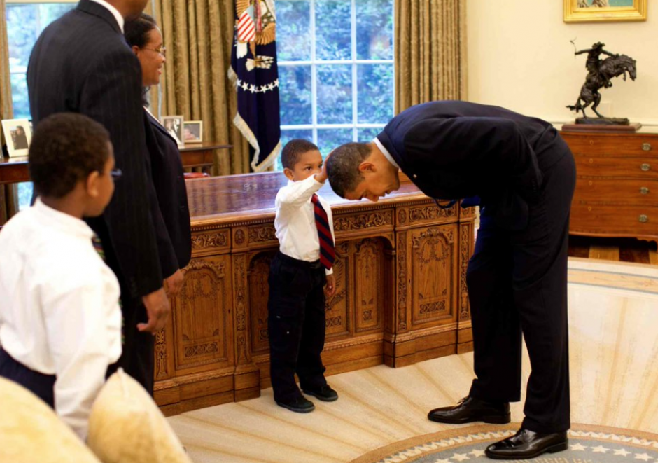 El fotógrafo retrató el lado más humano del Presidente. (Foto: Pete Souza)