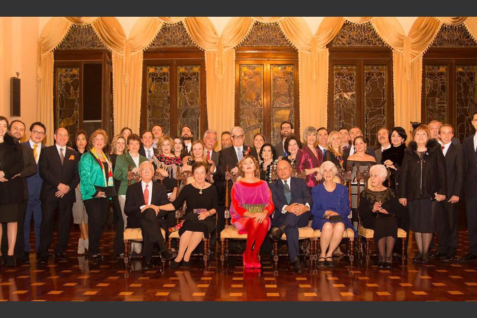La recepción se celebró en el salón Banquetes del Palacio Nacional. (Foto: Agatharuizdelaprada.com)