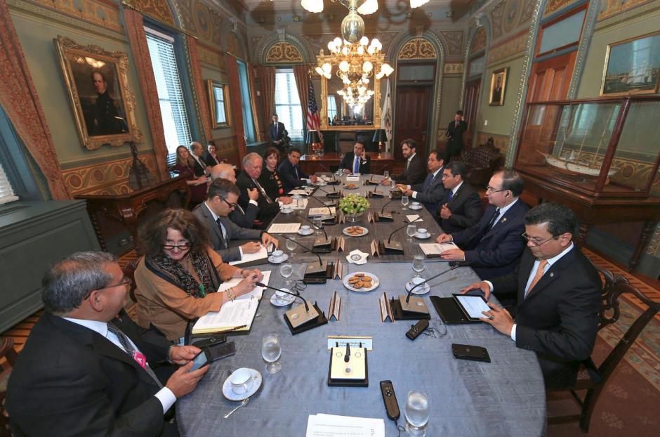 Los presidentes del Triángulo Norte se han reunido periódicamente para ver los avances del Plan Alianza para la Prosperidad. (Foto: Facebook)