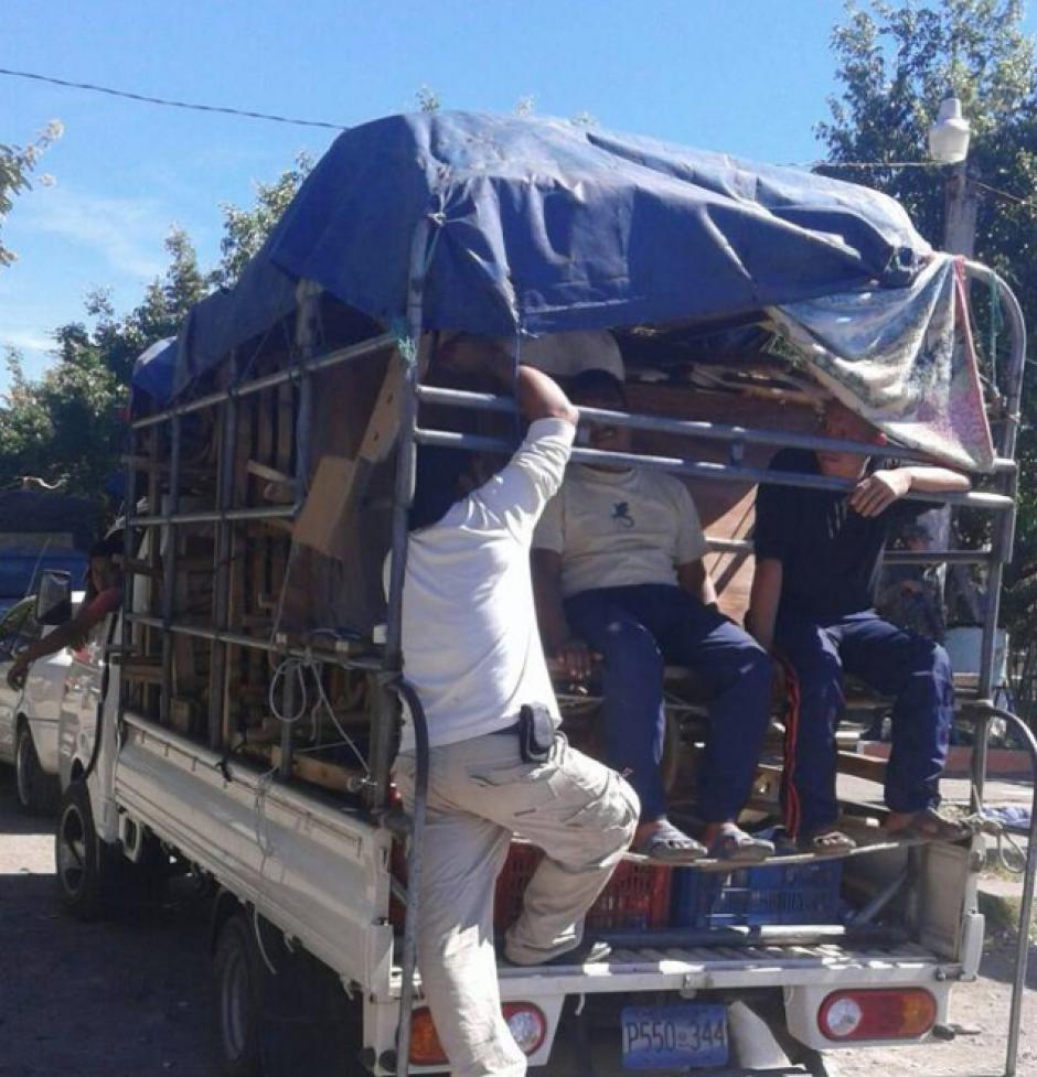 El camión ingresó al país desde El Salvador. (Foto: PNC)