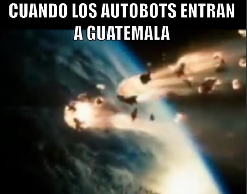 Humor cinematográfico para el fenómeno del meteoro. (Foto: Twitter)