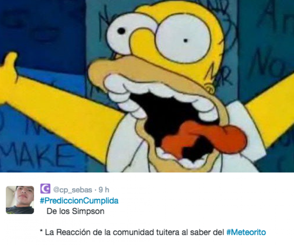 """Más predicciones de """"Los Simpsons"""". (Foto: Twitter)"""