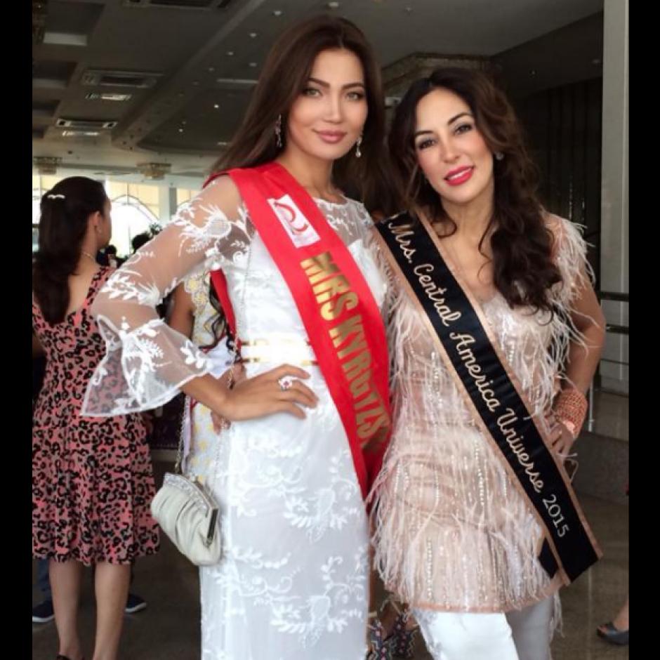 En 2015 viajó a Bielorrusia como Mrs Central America. (Foto: Facebook)