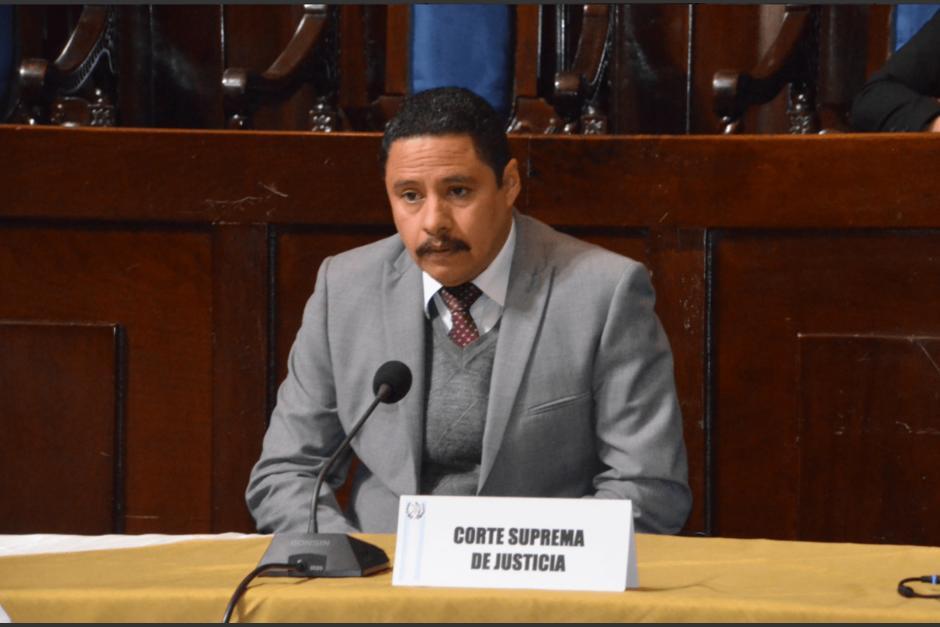 El secretario general del Organismo Judicial confirmó que Blanca Stalling pidió reunirse con el juez. (Foto: cortesía José Castro)