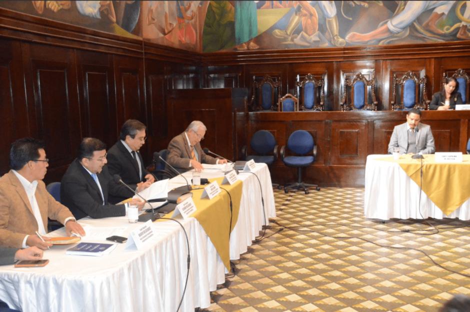La comisión pesquisidora espera concluir su informe este miércoles. (Foto: cortesía José Castro)