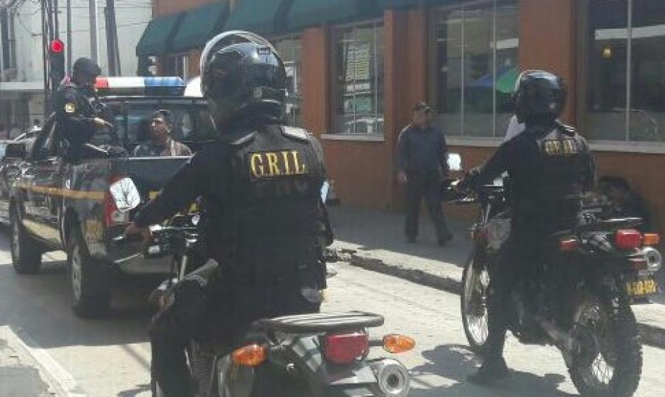 El cuerpo GRIL de la PNC detuvo al atacante. (Foto: PNC)