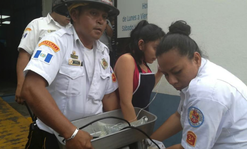 La menor se disponía a limpiar el molino de carne. (Foto: Bomberos Voluntarios)