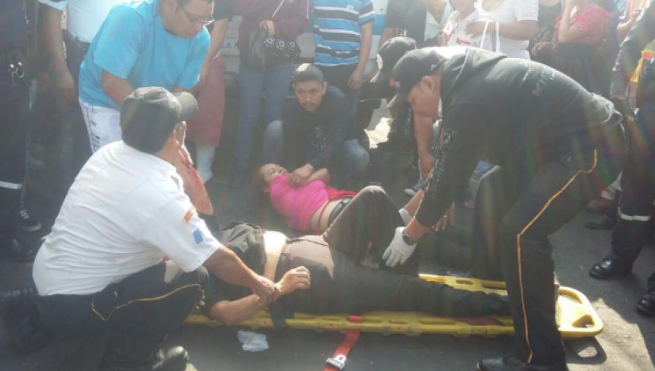 Cuatro personas resultaron heridas. (Foto: Dalia Santos)