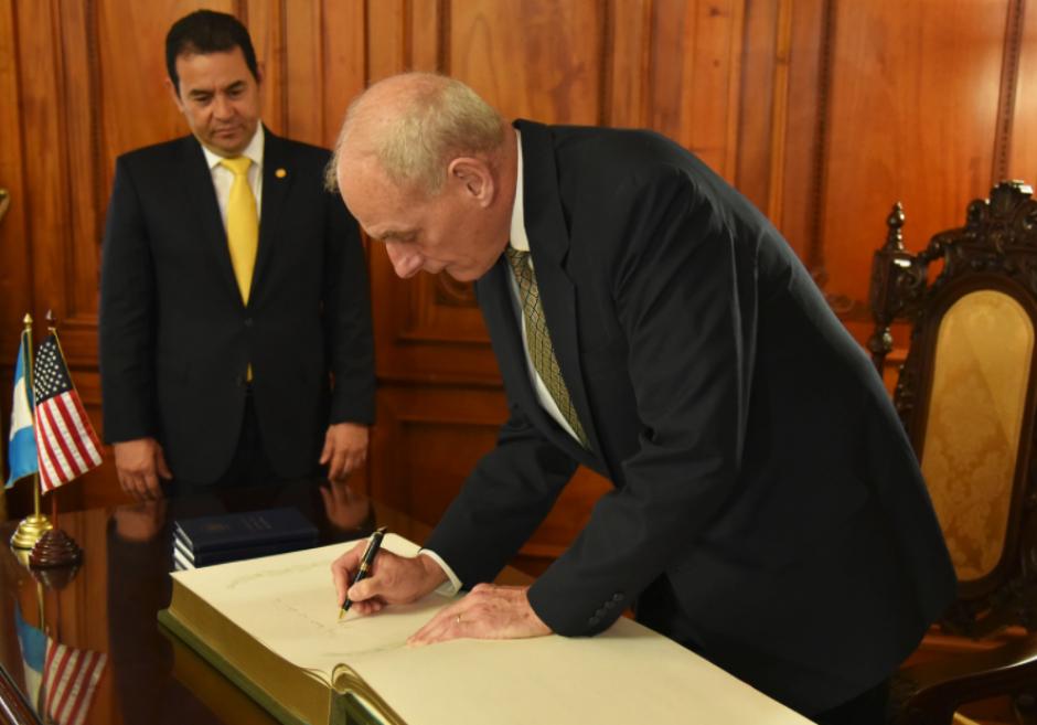 El secretario de EE.UU. también se reunió con el presidente Morales. (Foto: Embajada USA)