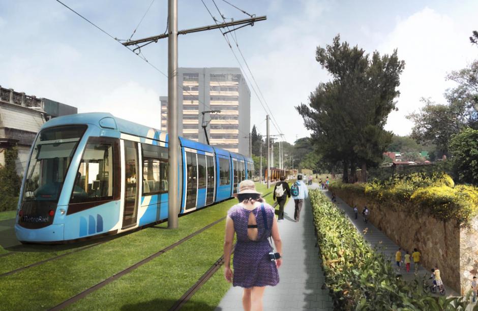 El proyecto atravesará el área metropolitana en 40 minutos. (Foto: Anadie)