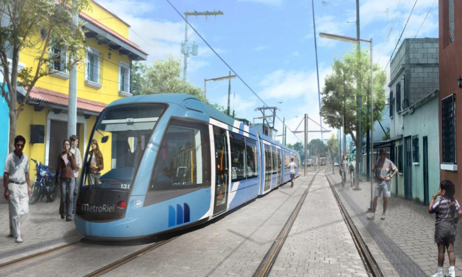 El MetroRiel pretende mejorar la movilización de la ciudad. (Foto: Anadie)