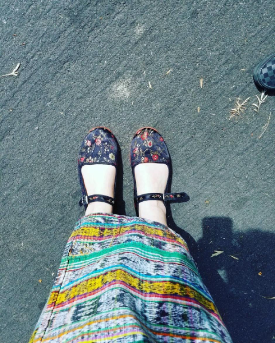 La actriz visitó Guatemala en 2014. (Foto: @missmayim/Instagram)