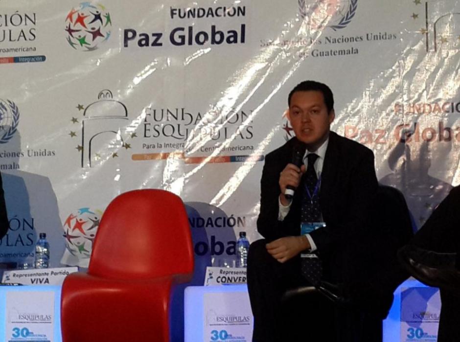 El exdiputado Pedro Gálvez integró el PRI y VIVA. (Foto: Archivo/Soy502)