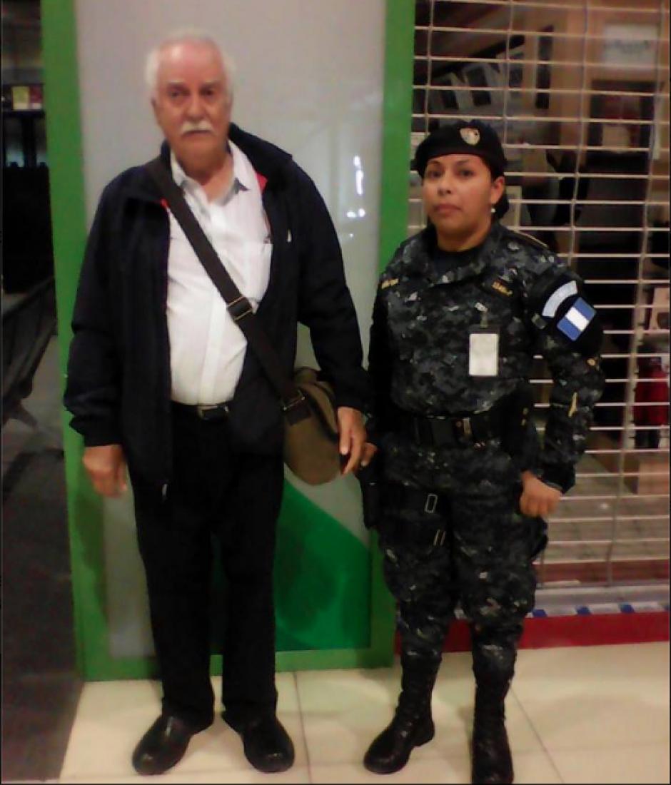 A Monteros Castillo se le sindica de defraudar al Estado por 21 millones de quetzales. (Foto: PNC))