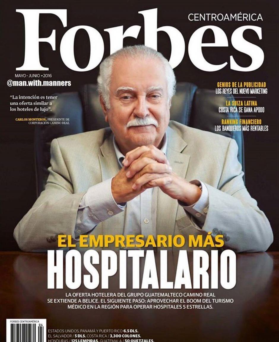 El propietario del hotel, Carlos Enrique Monteros Castillo fue detenido en el Aeropuerto Internacional la Aurora. (Foto: PNC))