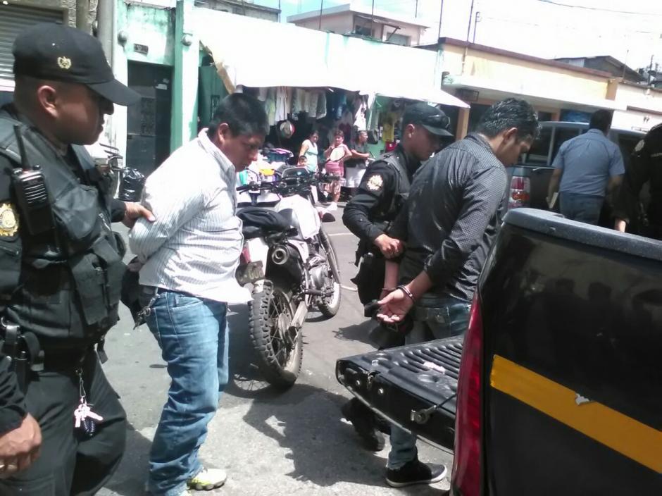 La mercadería estaba valorada en seis mil quetzales.  (Foto: PNC)