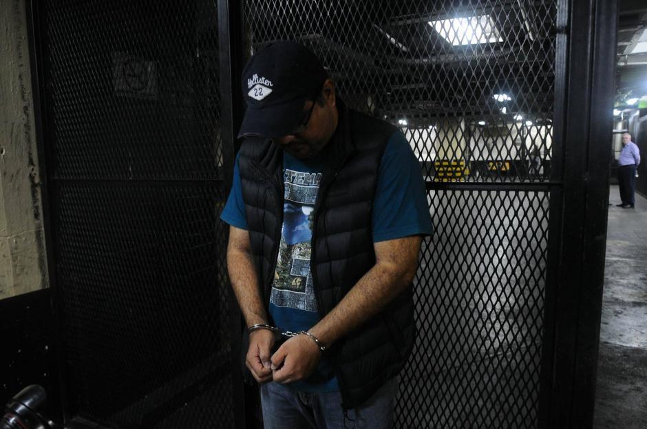 El gerente administrativo del hotel Camino Real fue detenido por delitos de defraudación tributaria. (Foto: Alejandro Balán/Soy502)