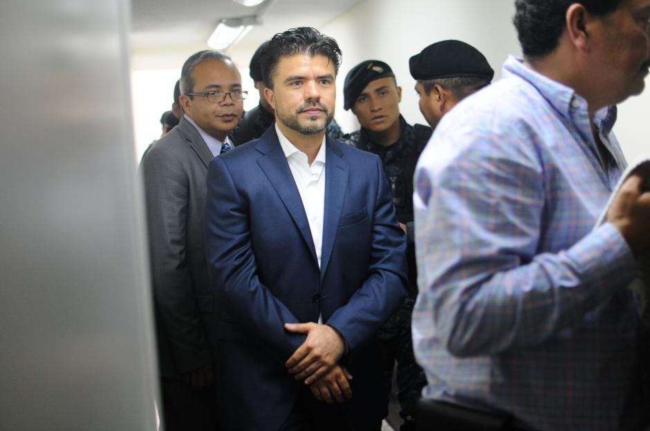 Jhonatan Chévez fue arrestado este viernes, acusado de lavado de dinero. (Foto: Alejandro Balan/Soy502)